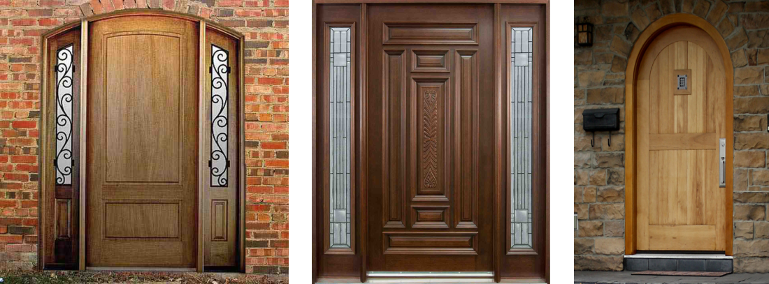 timber/wood residential doors